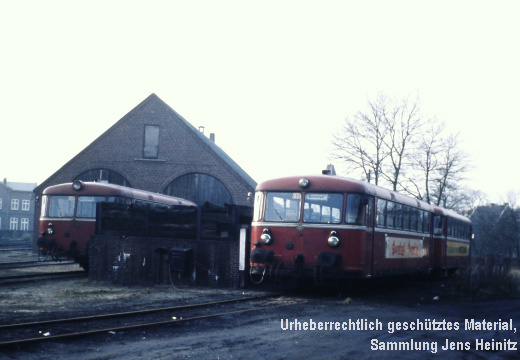 EBOE 16 Bw Barmstedt links VT3.09 rechts VT3.07 mit VS3.51 05-Jan-1974 Claus HANACK