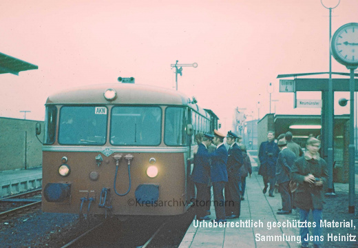 EBOE4446 Bf Oldesloe AKN VT2.24 Packwagen Pw3.103 1971